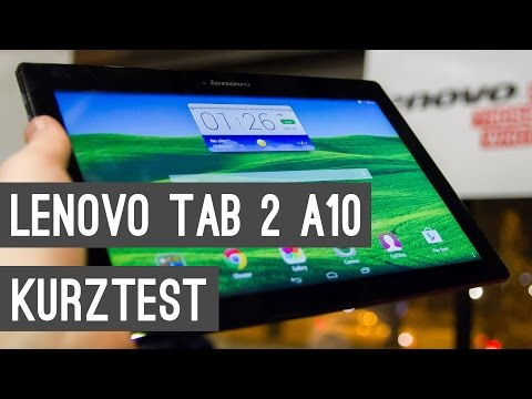 Lenovo Tab 2 A10 Kurztest + Hands On | Deutsch