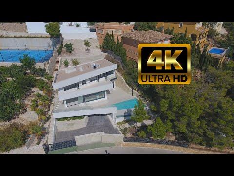 1190000€ Новая вилла премиум класса/Алтея Хиллс/Altea Hills/Новый дом Hi-Tech/Хайтек/Коста Бланка