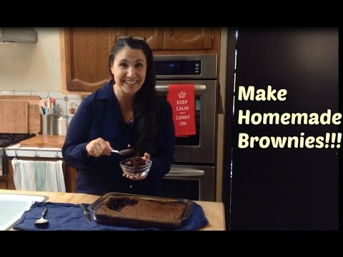Homemade Brownies From Scratch - How To Make The Best