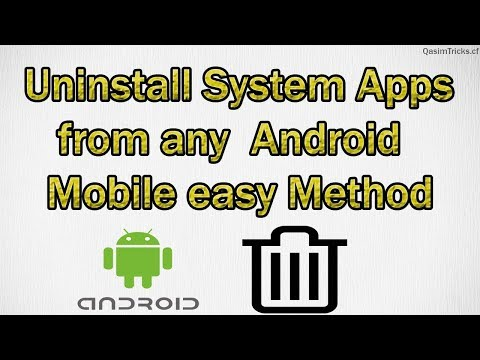 How to Uninstall System Apps from Android without root | Easy method 2019