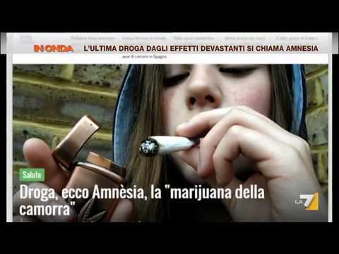 """l'ultima droga dagli effetti devastanti si chiama """"amnesia"""""""