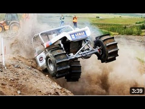 offroad - A nelson racing powered formula offroad car. Twin Turbo Ford V8. Turbo troll drived by the Icelandic driver, Guðbjörn Grímsson. http://www.facebook.com/Insan...