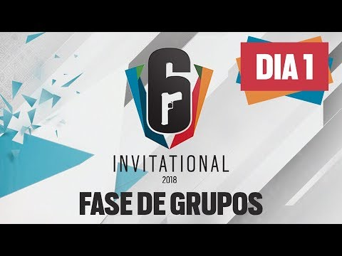 [DIA 1] Six Invitational 2018 | Fase de Grupos | AO VIVO - Rainbow Six Siege
