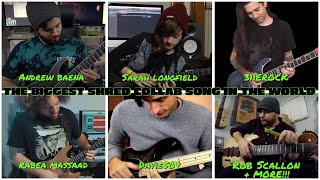 Video the biggest shred collab song in the world MP3, 3GP, MP4, WEBM, AVI, FLV September 2018