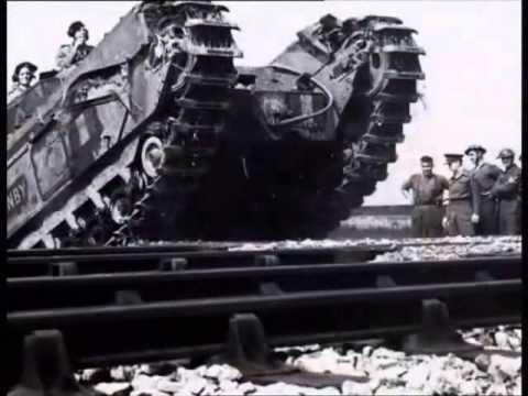 """Video. """"Documental sobre el tanque Churchill británico y el concepto del tanque-de-infantería""""."""