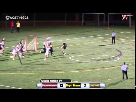 Shorewomen Lacrosse: Rachel Kurtz First Career Goal