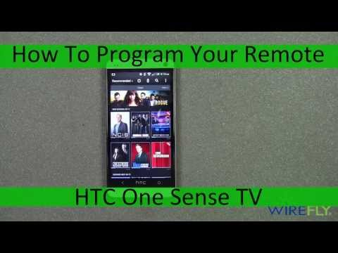 HTC One TV Remote Control Setup And Hands On By Wirefly