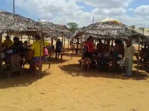 JOÃO CÂMARA - RN  -  Passeio ESF Queimadas, Praia do Farol - Caiçara - RN