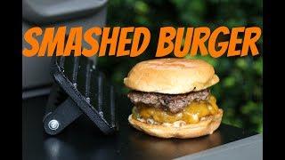 Video Smashed Burger - mega saftige Cheeseburger vom Grill MP3, 3GP, MP4, WEBM, AVI, FLV Juli 2018