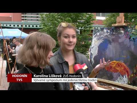 TVS Hodonín - Výtvarné sympozium má jedenáctiletou tradici