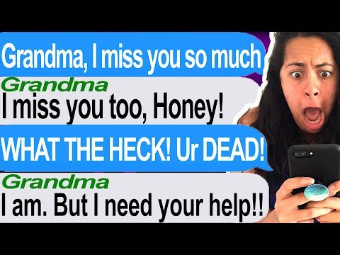 Talking To My Dead Grandmother At 3 AM?!?! -  (Tap | Texting My Dead Grandmotherr)