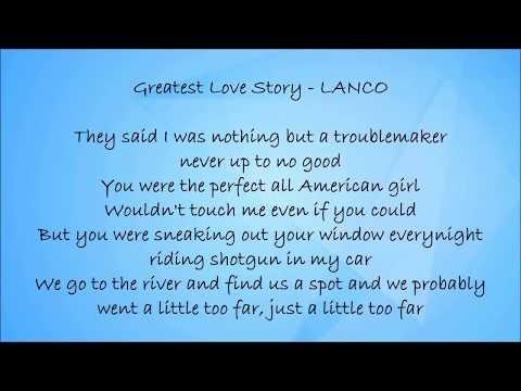 Video Greatest Love Story - LANCO Lyrics download in MP3, 3GP, MP4, WEBM, AVI, FLV January 2017