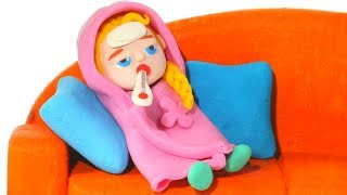 Video BABY ELSA HAS A COLD ❤ Kids Cartoons with Superhero Babies & Frozen Elsa MP3, 3GP, MP4, WEBM, AVI, FLV September 2018