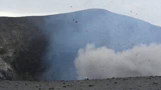 Volcano explosion close call in Vanuatu