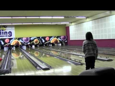 les enfants au bowling