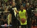 Floyd Mayweather plays in charity basketball game, gets swatted
