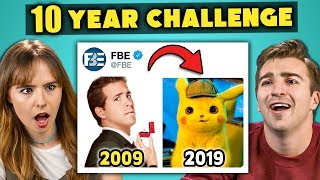 Video College Kids React To #10YearChallenge 2009 vs 2019 MP3, 3GP, MP4, WEBM, AVI, FLV Agustus 2019