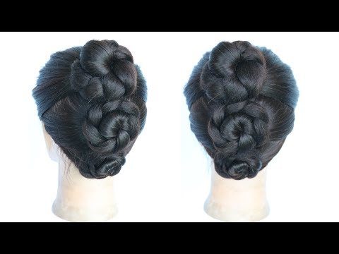 New hairstyle - new easy and simple juda hairstyle  hair style girl  hairstyles for girls  easy hairstyles