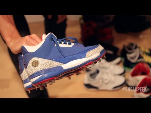 sneak peek - For the fifth edition in our Sneak Peek series, we find ourselves in the middle of Kansas City Royals pitcher Jeremy Guthrie's sneaker vault - not a closet b...