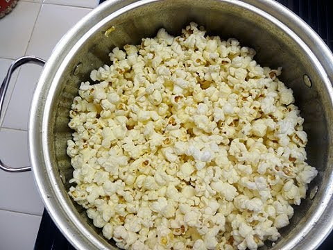 butter and popcorn - Tired of soggy popcorn? This is a little video to show you the best way to butter your homemade popcorn.