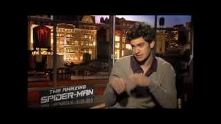 Andrew Garfield Interview -- THE AMAZING SPIDER-MAN