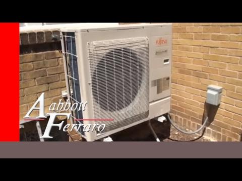Fujitsu HFI heat pump system