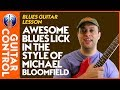 Blues Guitar Lesson: Michael Bloomfield guitar lick