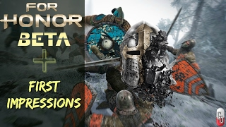For Honor Open Beta Now Available To Pre-load