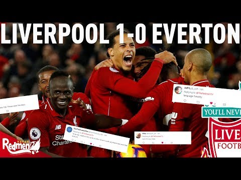 Liverpool V Everton 1-0 | #LFC Twitter Reactions