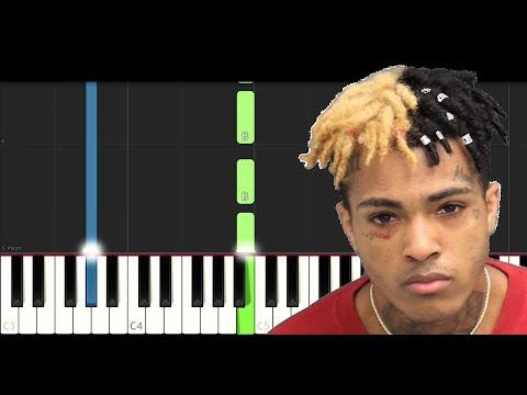 XXXTentacion - Changes (Piano Tutorial)