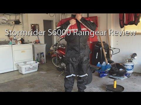 Stormrider SR6000 Motorcycle Raingear Review