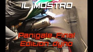 9. Ducati Panigale 1299 Final Edition w/full Akrapovic dyno