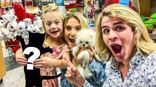 WE GOT A NEW FAMILY PET!!!