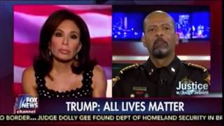 Sheriff David Clarke on Trump and his support for the police