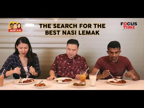 The Search For The Best Nasi Lemak | Can Eat Or Not #1