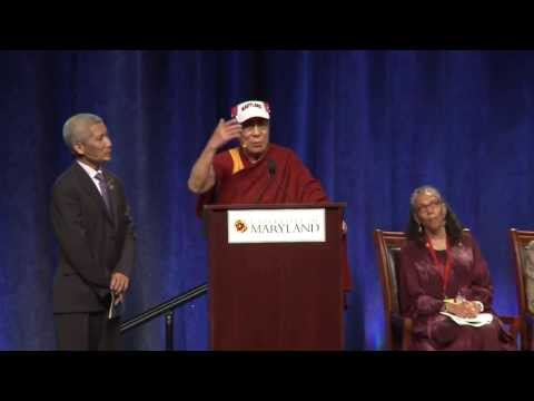 dalai - On Tuesday May 7, the Dalai Lama spoke at the University of Maryland as part of its Sadat Lecture for Peace series. He spoke about the source of happiness, t...