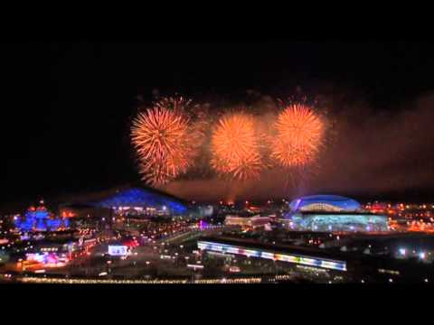 WATCH: Olympics closing ceremony fireworks.