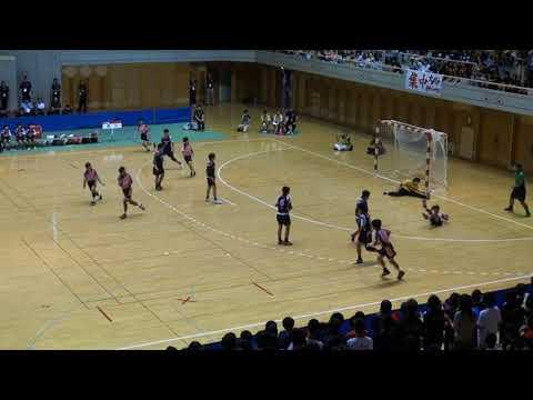 2017年度第46回全国中学校大会 女子決勝 原川中(大分)vs住吉第一中(大阪)