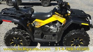 4. Can Am Outlander 650 Max XTP 2010