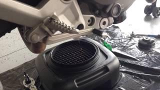 9. 2012 Ducati 696 Oil Change