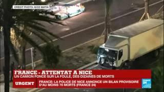 L'horreur absolue s'abat sur Nice - video (1)