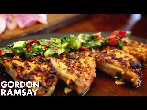 Red Mullet with Sweet Chilli Sauce - Gordon Ramsay