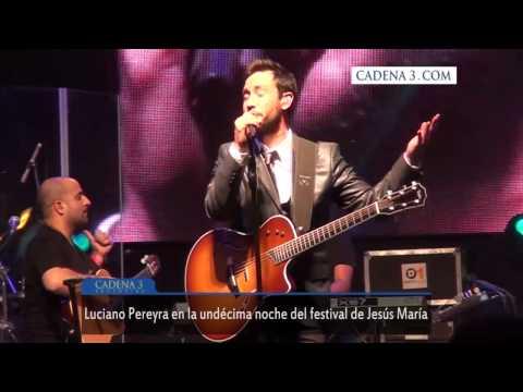 Luciano Pereyra enamoró a Jesús María (CADENA 3 ARGENTINA)