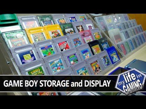 , title : 'Game Boy Storage & Display :: Tips & Tweaks (w/Game Dave) - MY LIFE IN GAMING'
