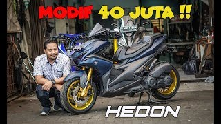 Video Yamaha AEROX 155 modifikasi HEDON | MAHAL GILA !! MP3, 3GP, MP4, WEBM, AVI, FLV Desember 2018