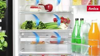 Amica VitLine Refrigerators - No Frost