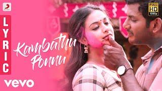 Nonton Sandakozhi 2 - Kambathu Ponnu Tamil Lyric | Vishal | Yuvanshankar Raja, N Lingusamy Film Subtitle Indonesia Streaming Movie Download
