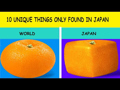 10 products that exists only in japan