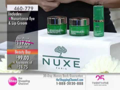 Nuxe Nuxuriance Beauty Routine 3 Piece Kit at The Shopping Channel 460779