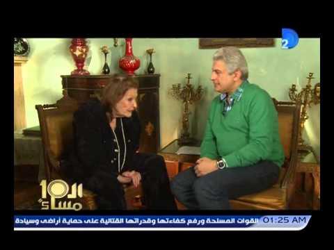 شاهد- مريم فخر الدين:رفضت الزواج من رشدي أباظة وهددني بالمسدس